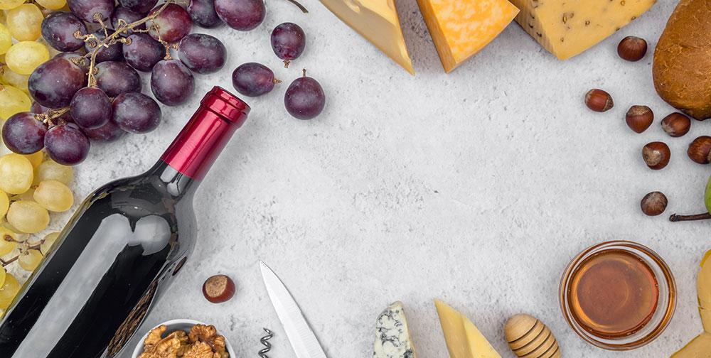 Maridar vino comida