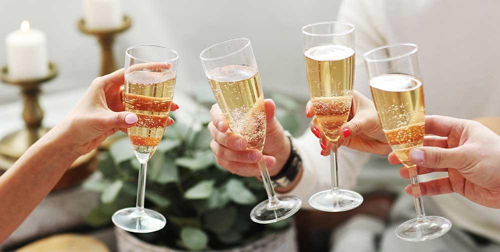 champagne claves, distribución de bebidas