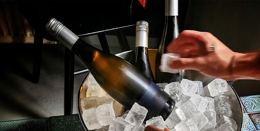 técnicas enfriar vino, distribuidora de bebidas Galicia