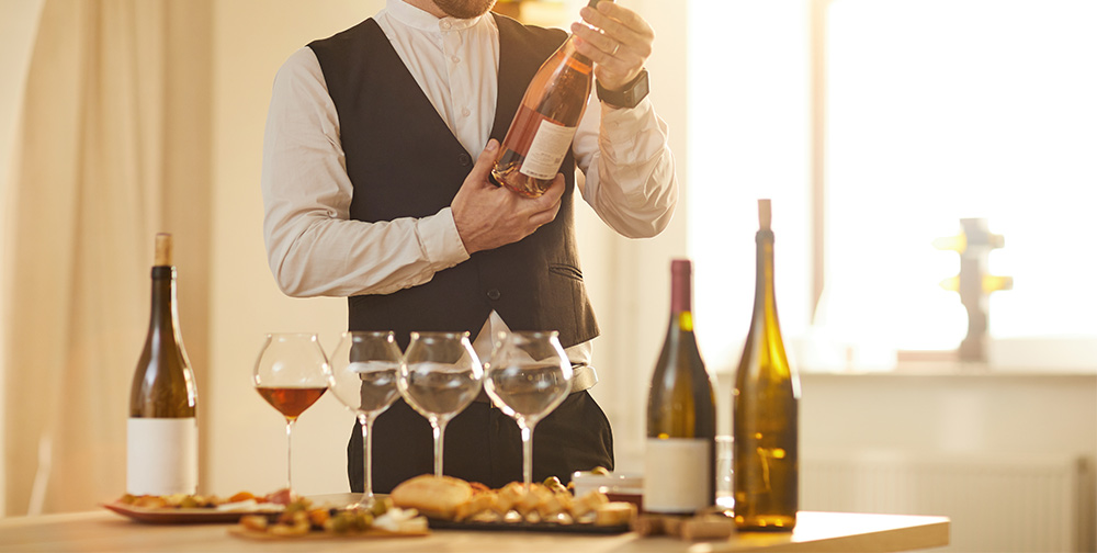sumiller, catar el vino